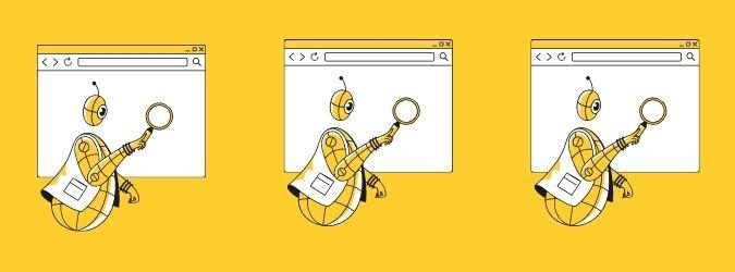 поисковый робот фото Web-Bees